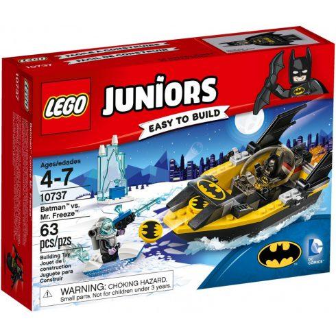 Lego 10737 Juniors Batman és Mr. Freeze összecsapása