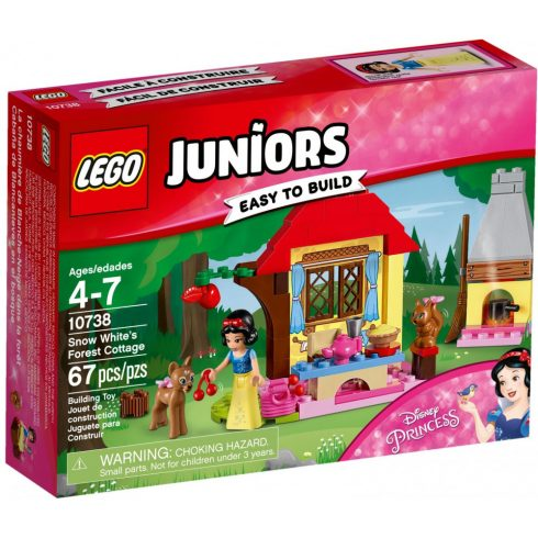 Lego 10738 Juniors Hófehérke házikója