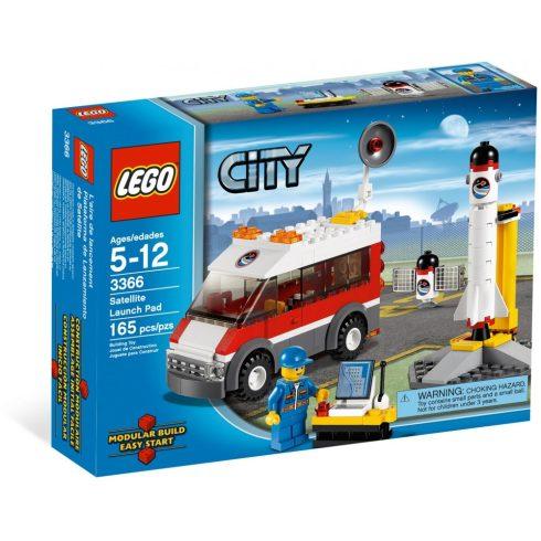 Lego 3366 City Műholdkilövő állomás