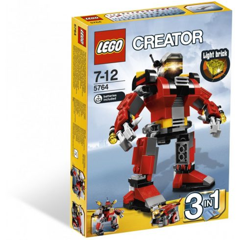 Lego 5764 Creator Mentőrobot