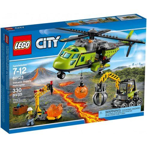 Lego 60123 City Vulkánkutató szállítóhelikopter