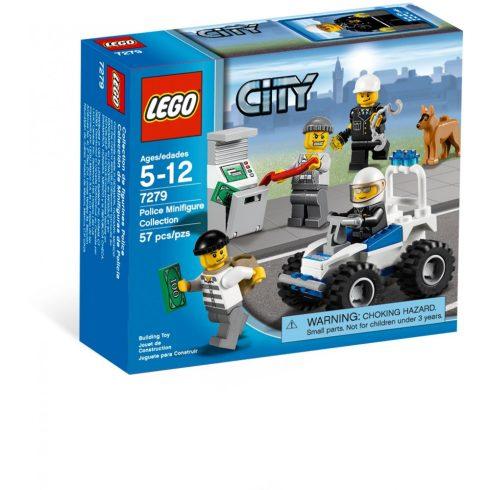 Lego 7279 City Rendőr minifigurák