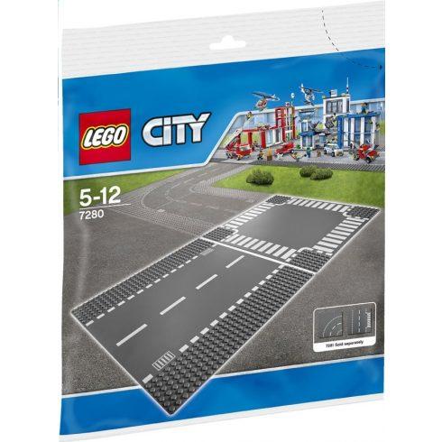 7280 Lego® City Egyenes út és kereszteződés