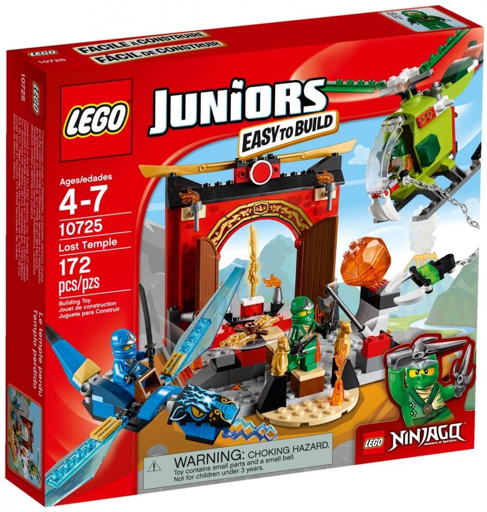 10725 Lego Juniors Ninjago Elveszett templom