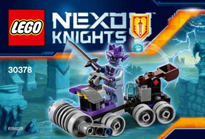 30378 Lego Nexo Knights Villám Quad