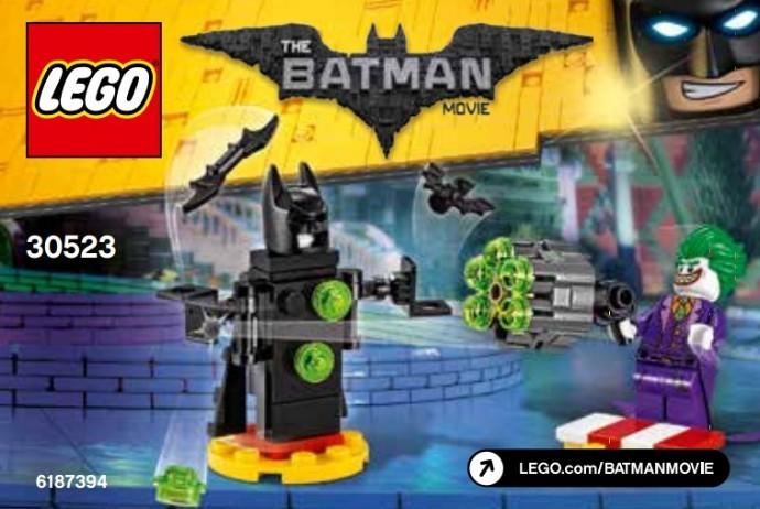 30523 Lego Joker harci kiképzése