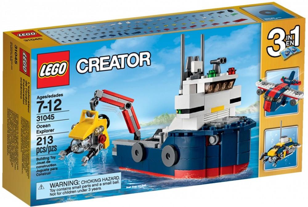 31045 Lego Creator Tengeri kutatóhajó