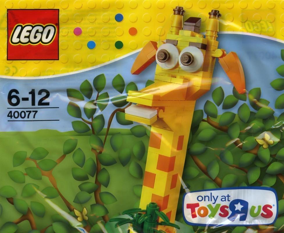 40077 Lego Creator Zsiráf fej