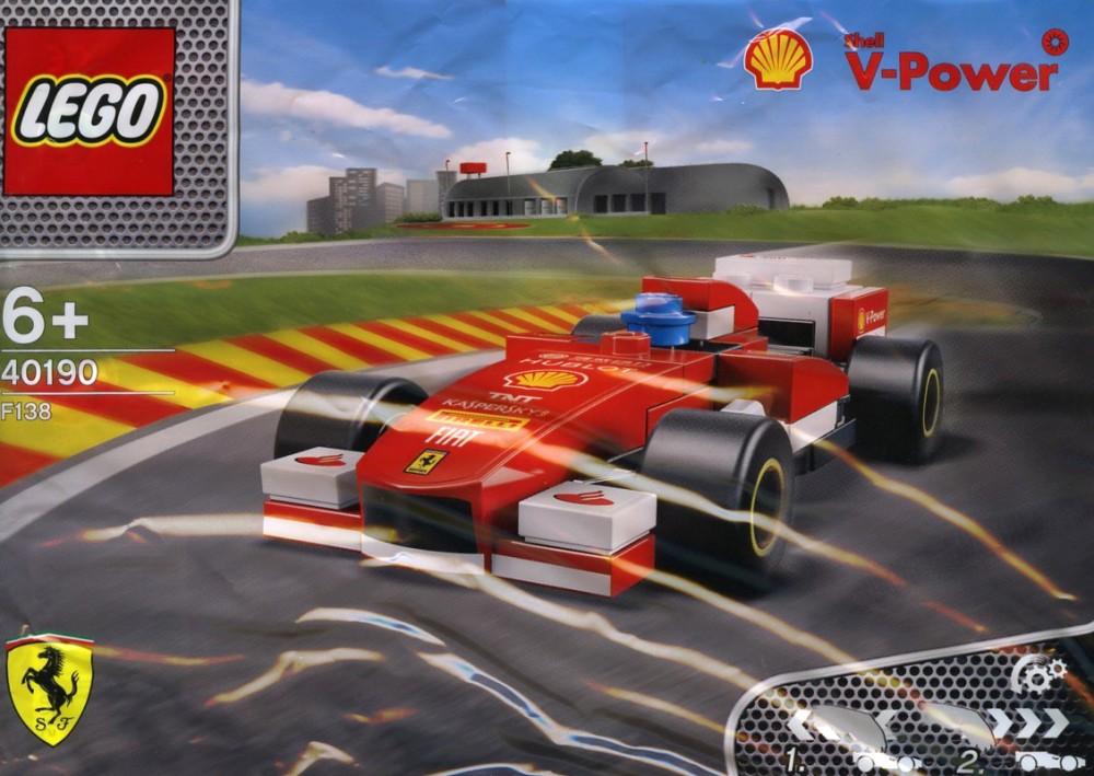 40190 Lego Ferrari F138