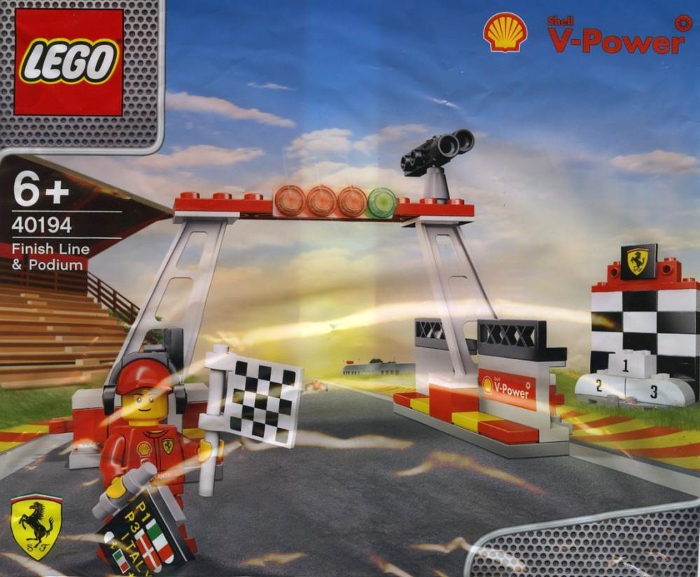 40194 Lego Finish Line & Podium