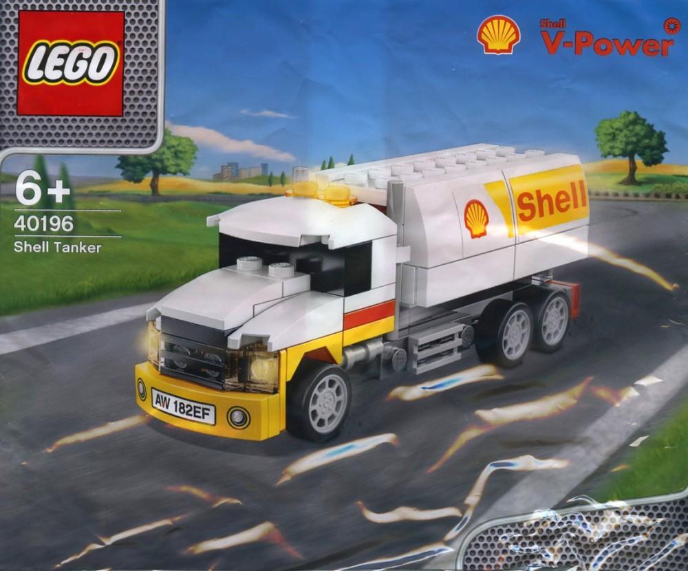 40196 Lego Shell Tanker
