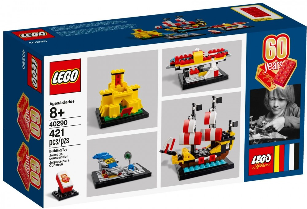 40290 Lego Exclusive 60 Years of the Brick