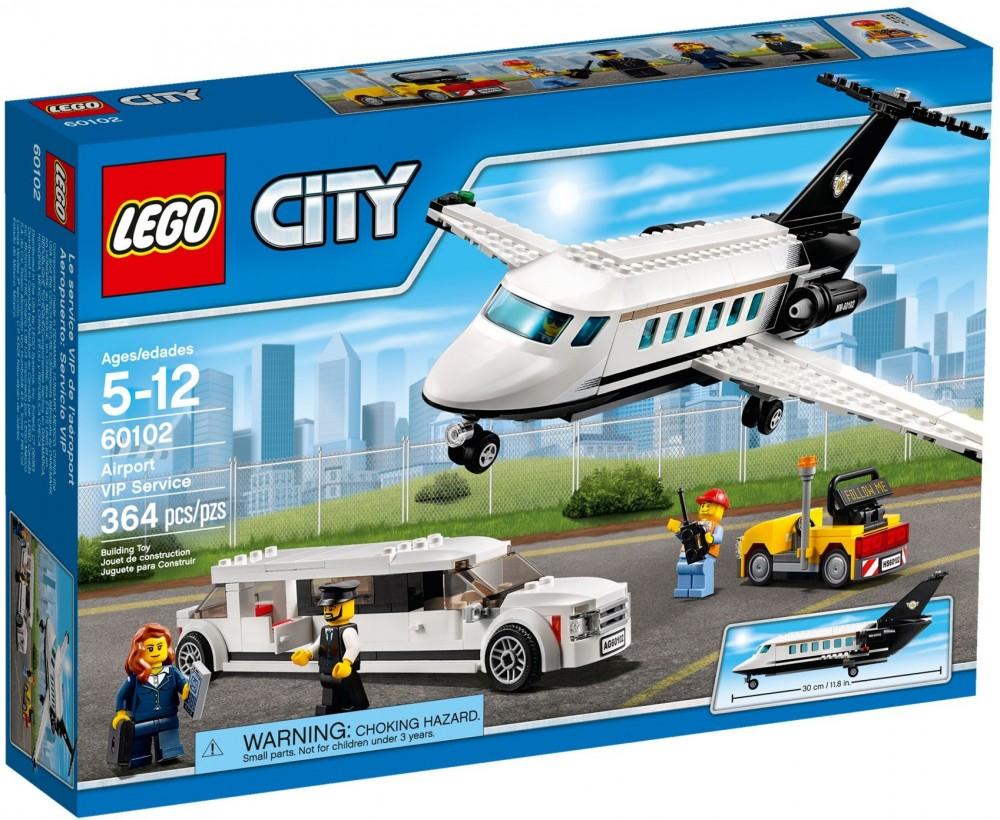 60102 Lego City VIP magánrepülőgép