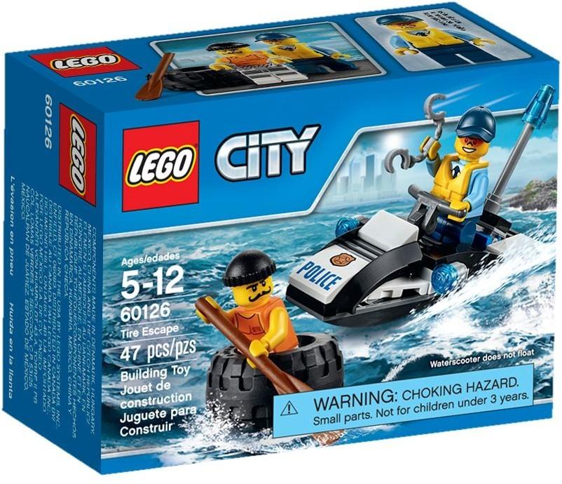 60126 Lego City Menekülés kerékabroncson